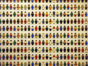 Lego People - We're All Different - Photo by Michelle Tribe